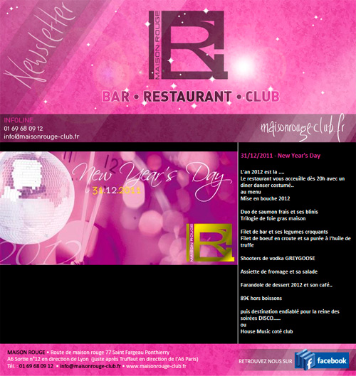 Article restaurant r veillon r servez d s maintenant au for Article de restaurant