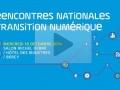 Rencontres nationales de la transition numérique...