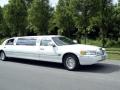 Le trajet en Limousine...