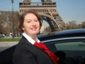 Isabelle Lechartier, Lady Chauffeur in Paris...