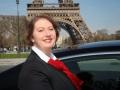 Isabelle Lechartier, Lady Chauffeur in Paris...
