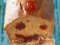 Cake aux cerises confites...