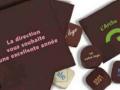 Du chocolat personnalisé, quelle bonne idée...