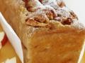 L'irrésistible cake aux pommes et à la cannelle...