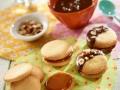 Sablés chocolat-caramel...