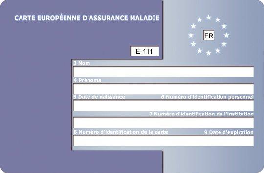 Carte Europeenne Dassurance Maladie Avec Rsi.Article Voyager La Carte Europeenne D Assurance Maladie
