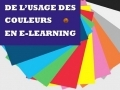 De l'usage des couleurs en e-learning...