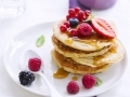 Pancakes aux fruits rouges...