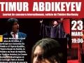 Timur Abdikeyev, chanteur d'opéra...