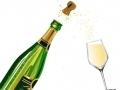 Le dégorgement du champagne...