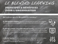 Blended learning, les bénéfices pour l'organisation...