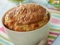Soufflé au jambon & parmesan...