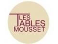 Les tables Mousset...