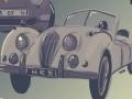 Rassemblement de véhicules anciens...