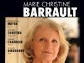 Marie-Christine Barrault à la cathédrale d'Evry...