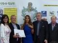 Yannick Roussel récompensé par la ligue universelle du bien public...