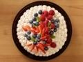 Gâteau aux fruits rouges et chantilly...