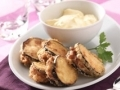 Savoureux poulet en beignets...