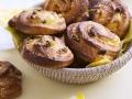 Pains aux raisins, amandes et noisettes...