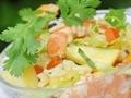 Salade exotique aux crevettes...