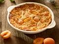 Clafoutis à l'épeautre et aux abricots frais...