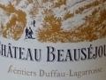 Le château Beauséjour à Saint Emilion...