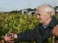 Charles Aznavour passionné par les vins de Bordeaux...