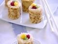 Crêpes de riz au lait, kiwi, mangue et framboise...