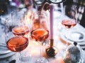 Le vin rosé...
